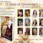12 Days of Giveaways has begun!