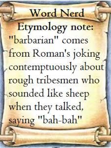word nerd barbarian
