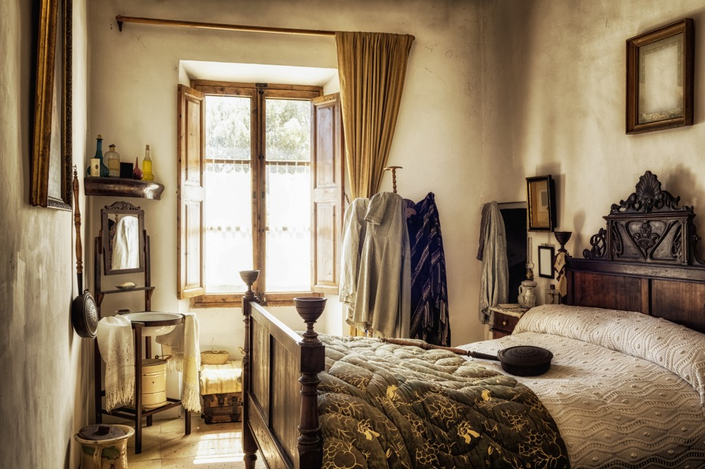 Ancient majorcan bedroom